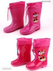 Minnie egeres mintás gumicsizma rózsaszín (30,32)