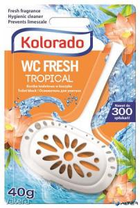 WC tisztító blokk, 40 g, Kolorado, trópusi