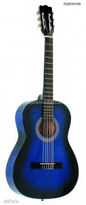 MSA kék klasszikus gitár C23