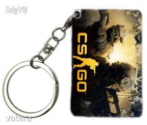 Counter Strike CS GO kártyás kulcstartó