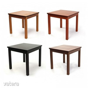 Berta kis asztal - Fix asztal, 80x80cm, több színben