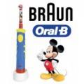 Braun Oral-B Kids 950 elektromos fogkefe gyerekeknek zenélő időzítővel