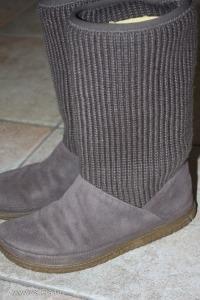 CLARKS velúr bőr cipő, csizma  38-as