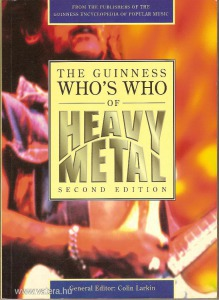 Colin Larkin : The Guinness Whos Who of Heavy Metal      újszerű állapot    *85