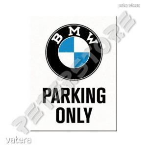 Fém Hűtőmágnes - BMW Parkoló - 900 Ft Kép