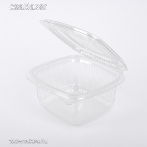 Eldobható ételtároló doboz felnyitható tetővel 500 ml - 49 Ft - Vatera.hu Kép