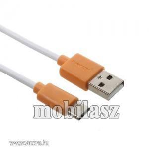PINZUN 2A adatatátviteli kábel, USB töltő, USB - USB Type-C, Narancs