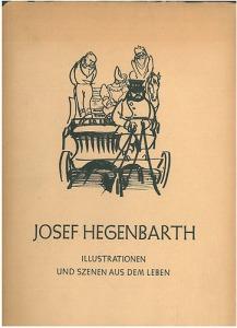 Josef Hegenbarth - Illustrationen und szenen aus dem leben