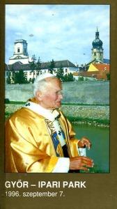 : A Szentatya Győrött