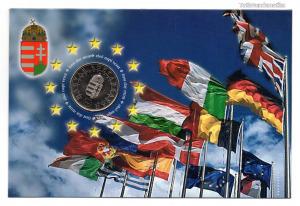 Csatlakozás az Európai Unióhoz 50 Forint 2004 Első napi veret