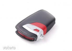 Gyári BMW piros bőr kulcstok 82292219909
