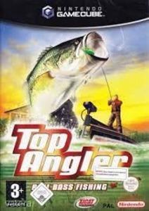 Nintendo Gamecube Játék Top Angler - Real bass fishing