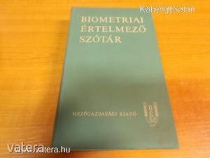Jánossy Andor, Muraközy Tamás, Aradszky Gézáné (szerk.): Biometriai értelmező szótár (*97)