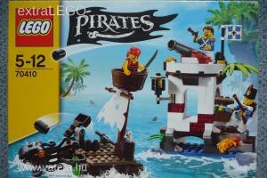 Lego Pirates 70410 Soldiers Outpost Bontatlan, Új, Jópofa Különlegesség!!!