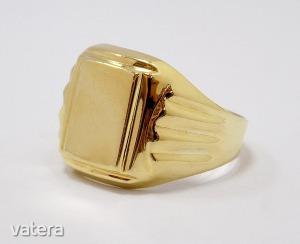 Arany pecsétgyűrű (ZAL-Au 77413)