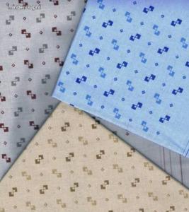 Filago Oliver 5 színes op art mintás férfi textilzsebkendő 3db Kép
