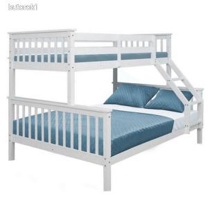 Emeletes, kinyitható ágy , fehér, BAGIRA
