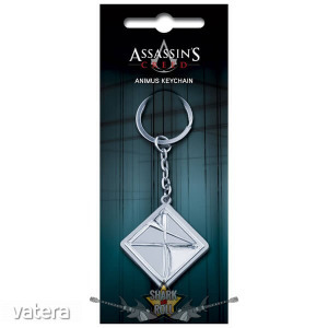 Assassin's Creed - Metal Animus Logo Key Chain. fém kulcstartó