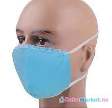 Kikkaboo felnőtt egészségügyi maszk pamut