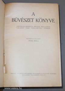 Willmann; Hermann; Becker; Bellachini: A bűvészet könyve, v8753