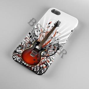 gitár mintás Samsung Galaxy A20E tok hátlap tartó