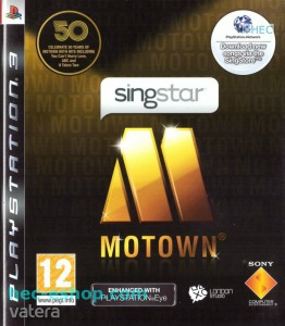 PS3  Játék Singstar Motown