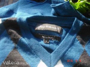 Újszerű C&A  L-XL-s kárómintás férfi pulóver. - Aukció Kép