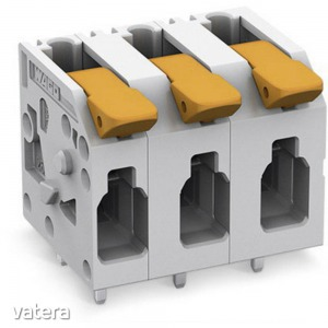 WAGO 2604-1308 Nyomtatott áramköri kapocs 4 mm? Pólusszám 8 1 db