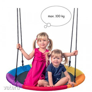 Woodyland fészekhinta, pókhinta - 100 cm - szivárvány -91417