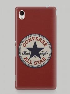 Converse mintás Sony Xperia M2 tok hátlap