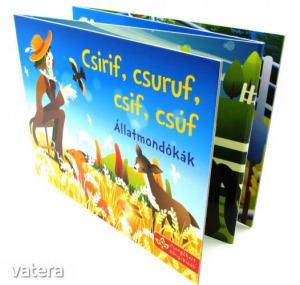 Csirif, csuruf, csif, csúf - harmonikakönyv