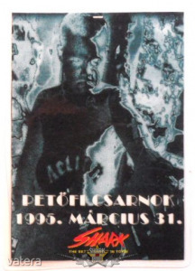 ACTION. PECSA. 1995.MÁRCIUS 31.. Stage pass.