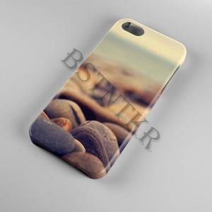tengerpart kövek Samsung Galaxy A40 tok hátlap tartó