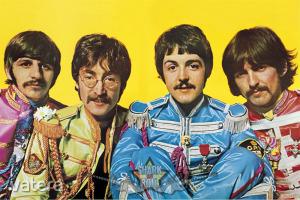 The Beatles - Lonely Hearts Club. plakát, poszter