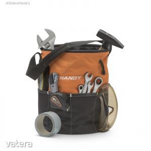 Szerszámos táska üres 25x30 cm poliészter (10234)