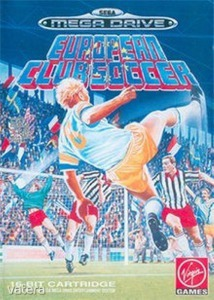 SEGA Mega Drive Játék European Club Soccer