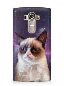 Grumpy Cat mintás LG K10 tok hátlap