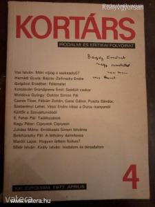 Kortárs - 1977. április / Dedikált (*98)