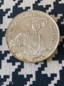 Ezüst 200 forint Mányoki Ádám 1977