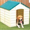 Műanyag kutyaház, kutyaól 72 x 71,5 x 68 cm