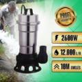 BLACK vízszivattyú 2600W 48016