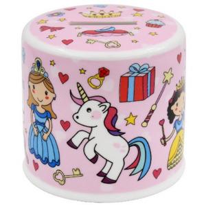 Porcelánpersely 10x10x9cm,Fairy Tale