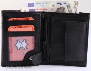 Monopol valódi bőr férfi pénztárca