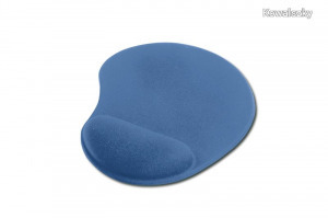 Ednet Mouse Pad with wrist rest Blue 64218