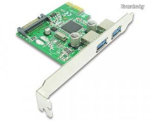 BestConnection PCI-Express USB3.0 kártya 2 port FG-EU305A-3-BC01 / USB3PCIE