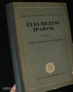 Telegdy: Élelmezési iparok  tankönyv 1957