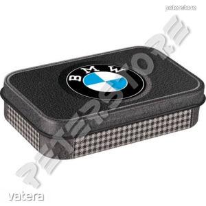Retró Cukorkás Fémdoboz XL - BMW Dombornyomott