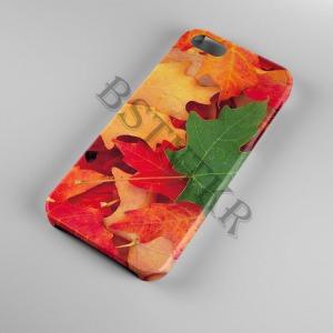 színes levelek Samsung Galaxy A50 tok hátlap tartó