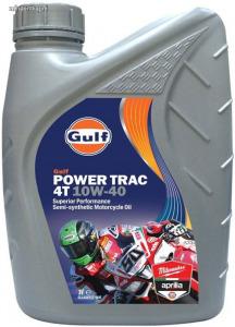 Gulf Power Trac 4T 10W40 négyütemű motorkerékpár olaj 1L