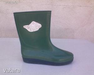 Zöld színű gumicsizma 35-ös